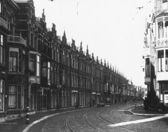 De 2e Sweelinckstraat in 1942.