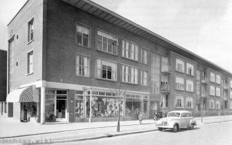 De Betje Wolffstraat in 1954.