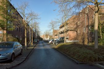 De Jules Massenetstraat in december 2014.