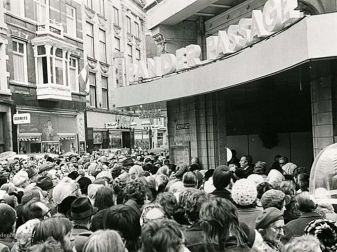 Opening Pander passage in 1972