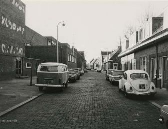 De Busken Huetstraat in 1977.